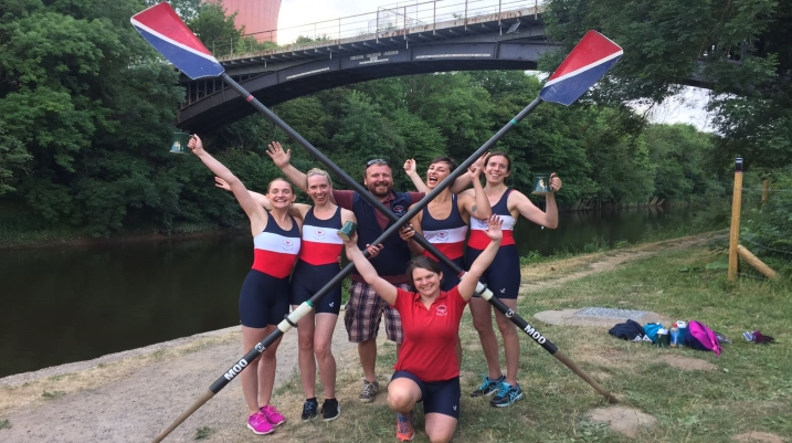 Dev Squad Girls Success at Ironbridge Regatta