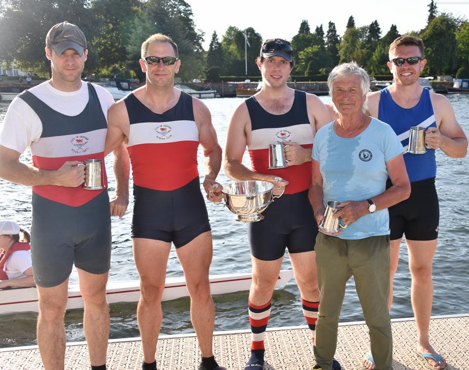 Henley Town & Visitors Regatta – Winners of the Tier 1 Open Coxed Fours